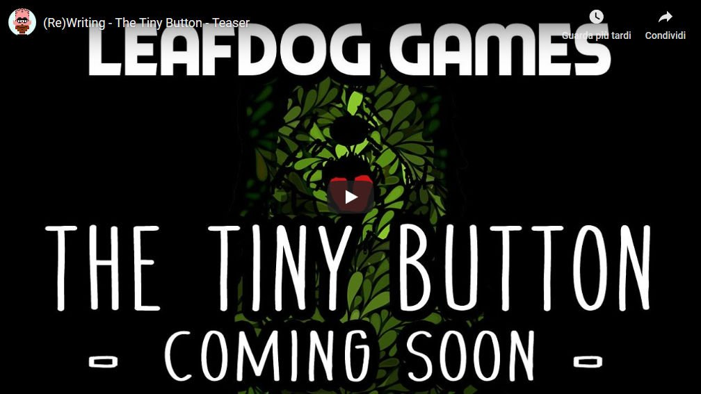 Immagine di Leafdog Games: The tiny button youtube teaser